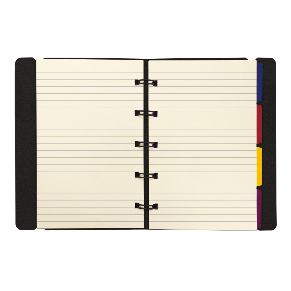"Rediform Pocket Filofax Notebook, 112 Rld, 4-1/8""x5-3/4"", BK B115001U"