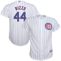 4d91c03c9 Product Image Anthony Rizzo Chicago Cubs Majestic Youth Home Official Cool  Base Player Jersey - White/Royal