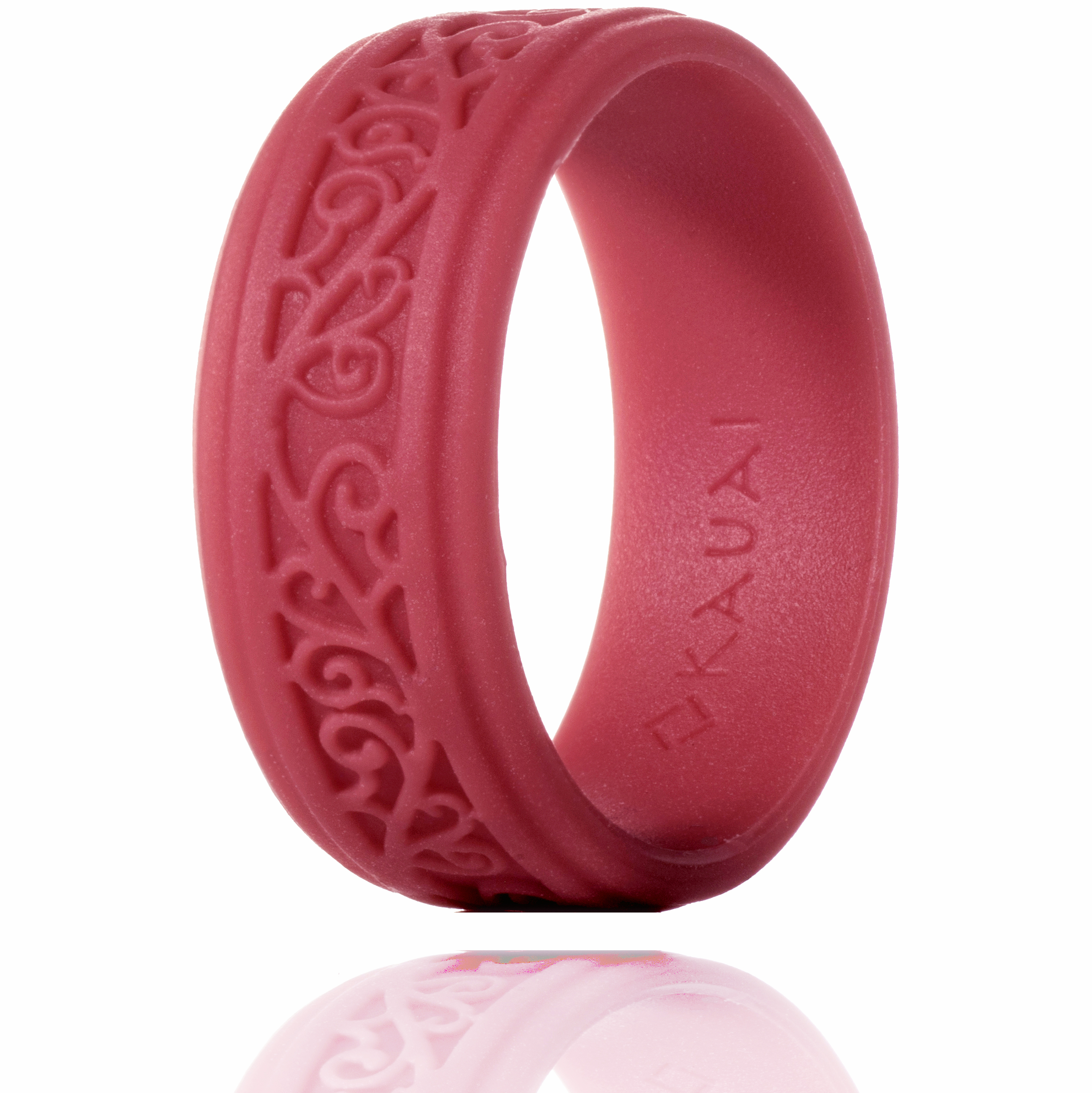 KAUAI -Silicone Rings Elegant, Comfortable, Engagement Wedding ...