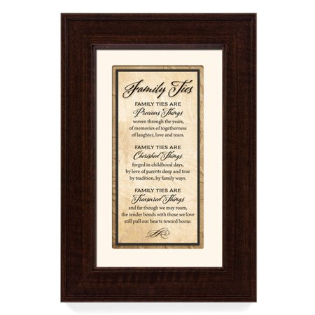 The James Lawrence Company \'Family Ties\' Framed Textual Art ...