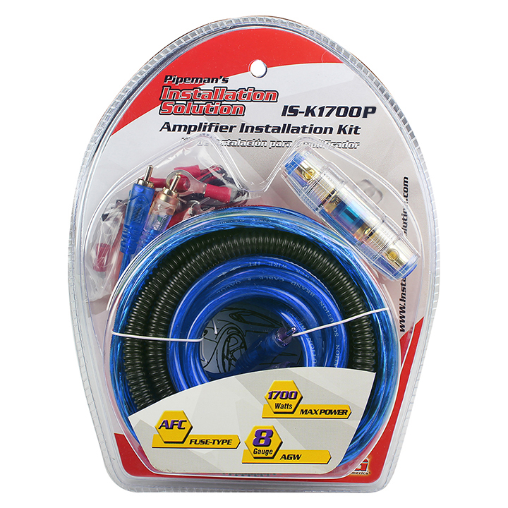 Audiopipe ISK1700P Amp Wiring Kit 8ga. Xxx Platinum