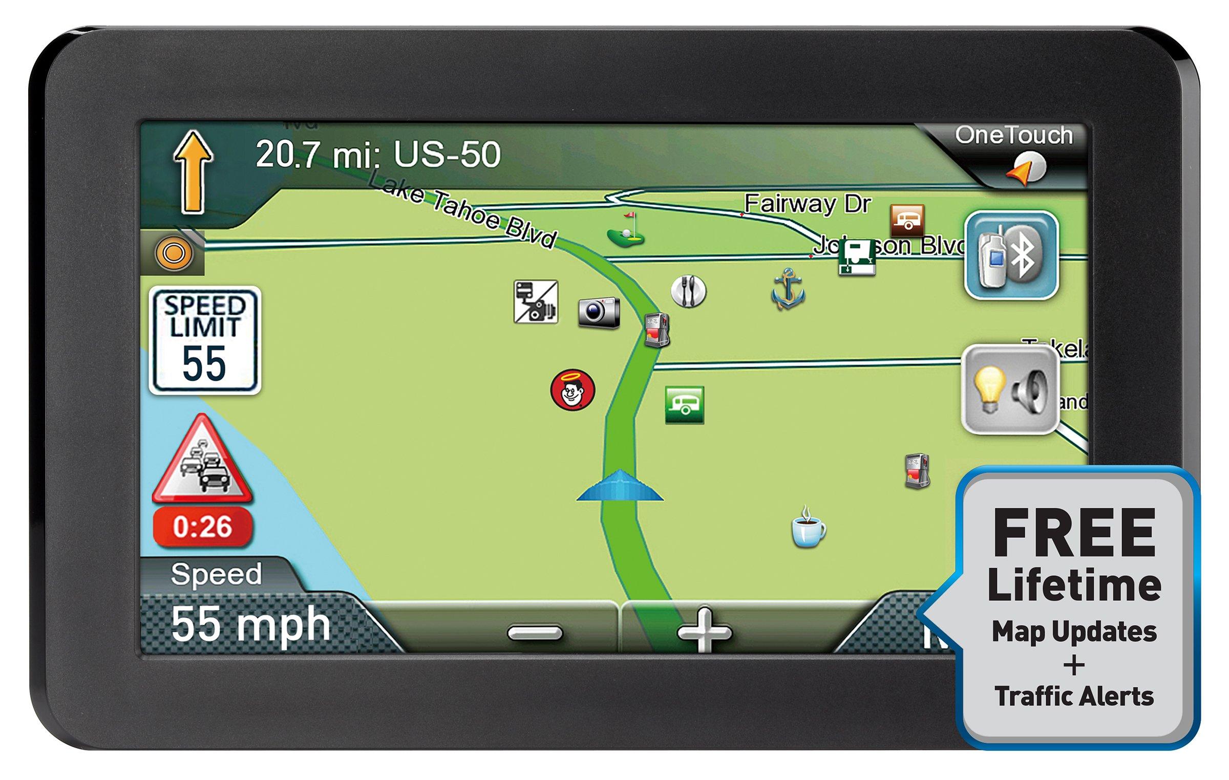 "Magellan Rv9365saluc Roadmate Rv 9365t-lmb 7"" Gps Navigator With Bluetooth & Free Lifetime Maps & Traffic Updates by Magellan"