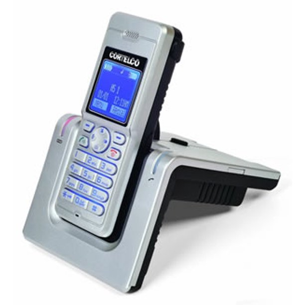 Cortelco Itt 8015m Dect Cordless W Headset Jack Belt Clip Walmart Com Walmart Com