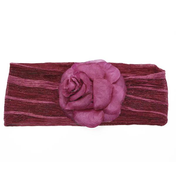 Expo Int'l Henna Stretch Headband with Rose