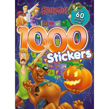Scooby-Doo 1000 Stickers: Over 60 Activities - Sticker Activity Pack
