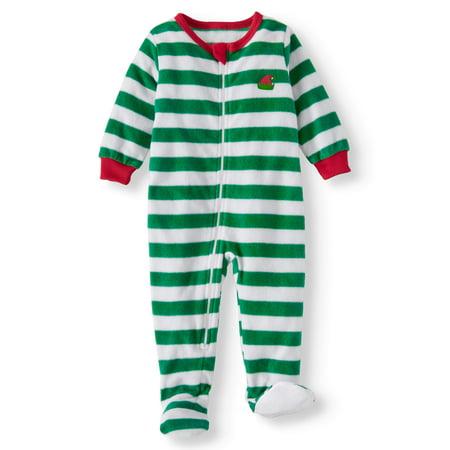 322eb8d42b Family Pjs Holiday Elf Selfie Blanket Sleeper (Baby Boys or Baby Girls  Unisex)