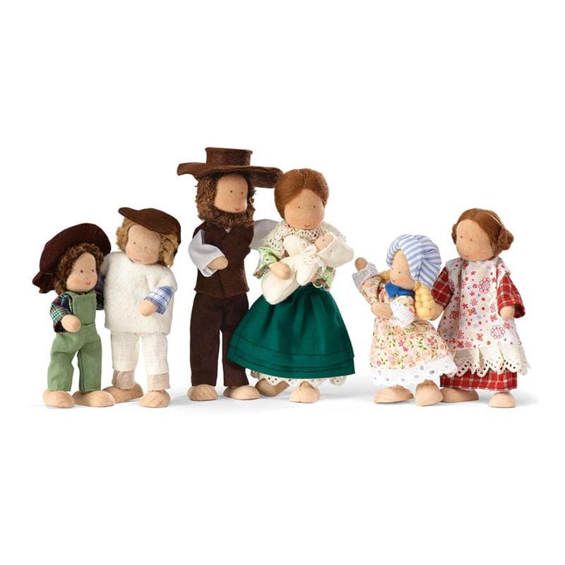 Magic Cabin Pioneer Dollhouse Doll