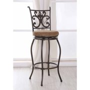 Hodedah Swiveling Bar Chair