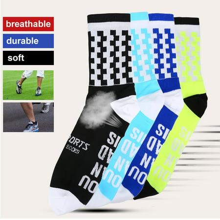 Yosoo Chaussettes anti-transpiration douces et respirantes pour garder au chaud en plein air, chaussettes de basket-ball, chaussettes d'équitation et de sport - image 3 de 7
