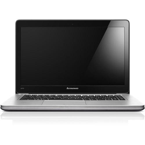 "Lenovo Silver 14"" IdeaPad U410 59351632 Ultrabook PC with Intel Core i5-3317U Processor and Windows 8 Operating System"