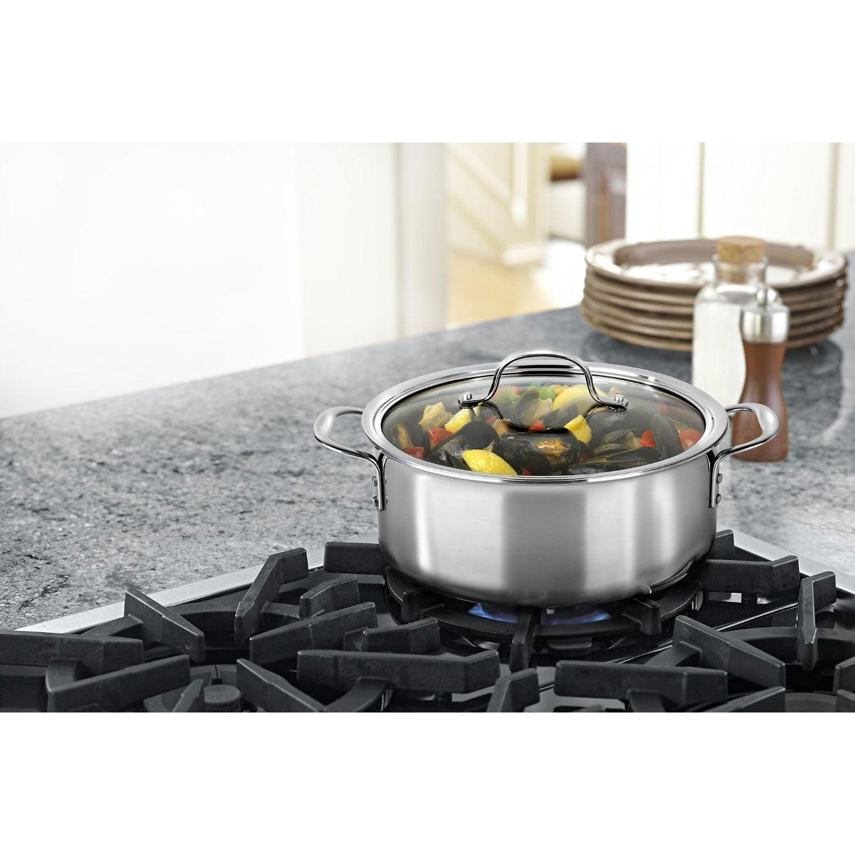 calphalon triply stainless steel cookware dutch oven 5quart walmartcom - Calphalon Tri Ply Stainless Steel