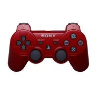 Refurbished PlayStation 3 Dualshock 3 Wireless Controller Red PS3