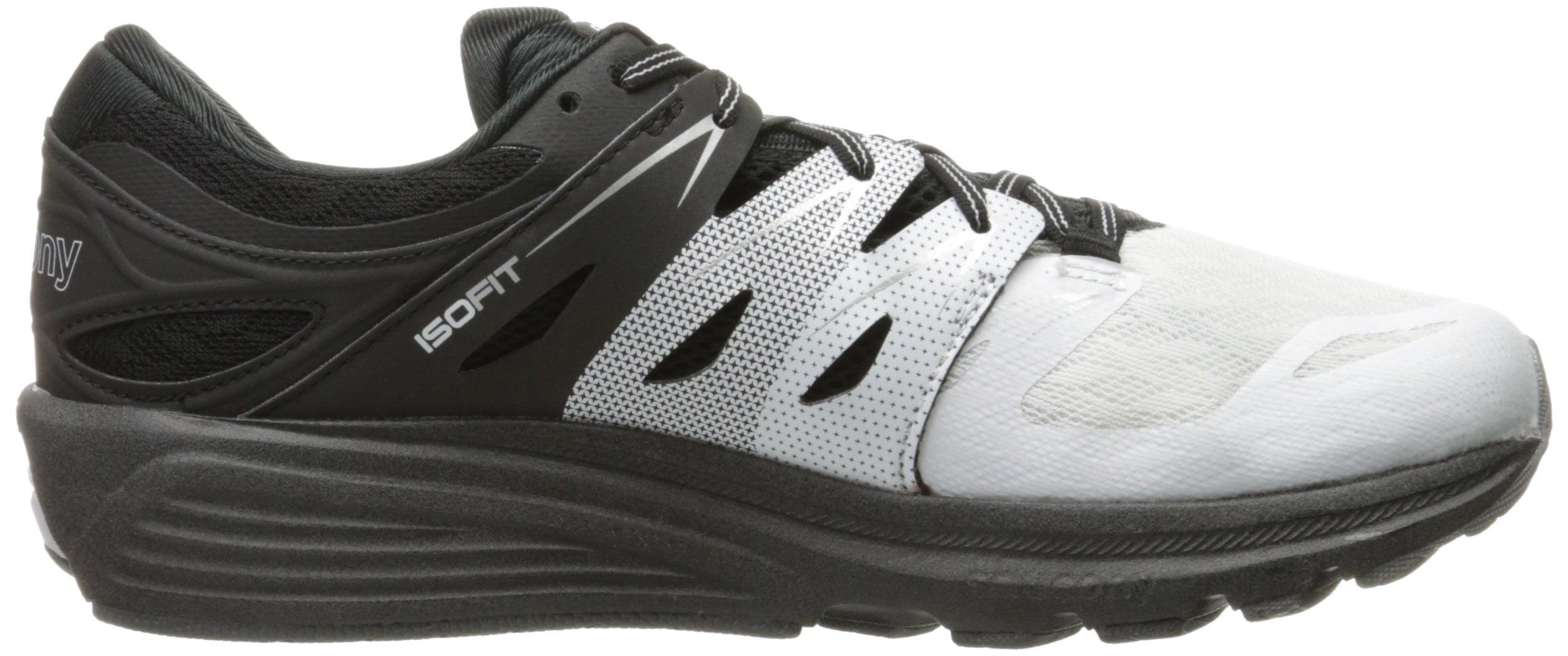 3807e69f Mens Saucony Zealot ISO 2 Reflex White Black Silver S20332-1