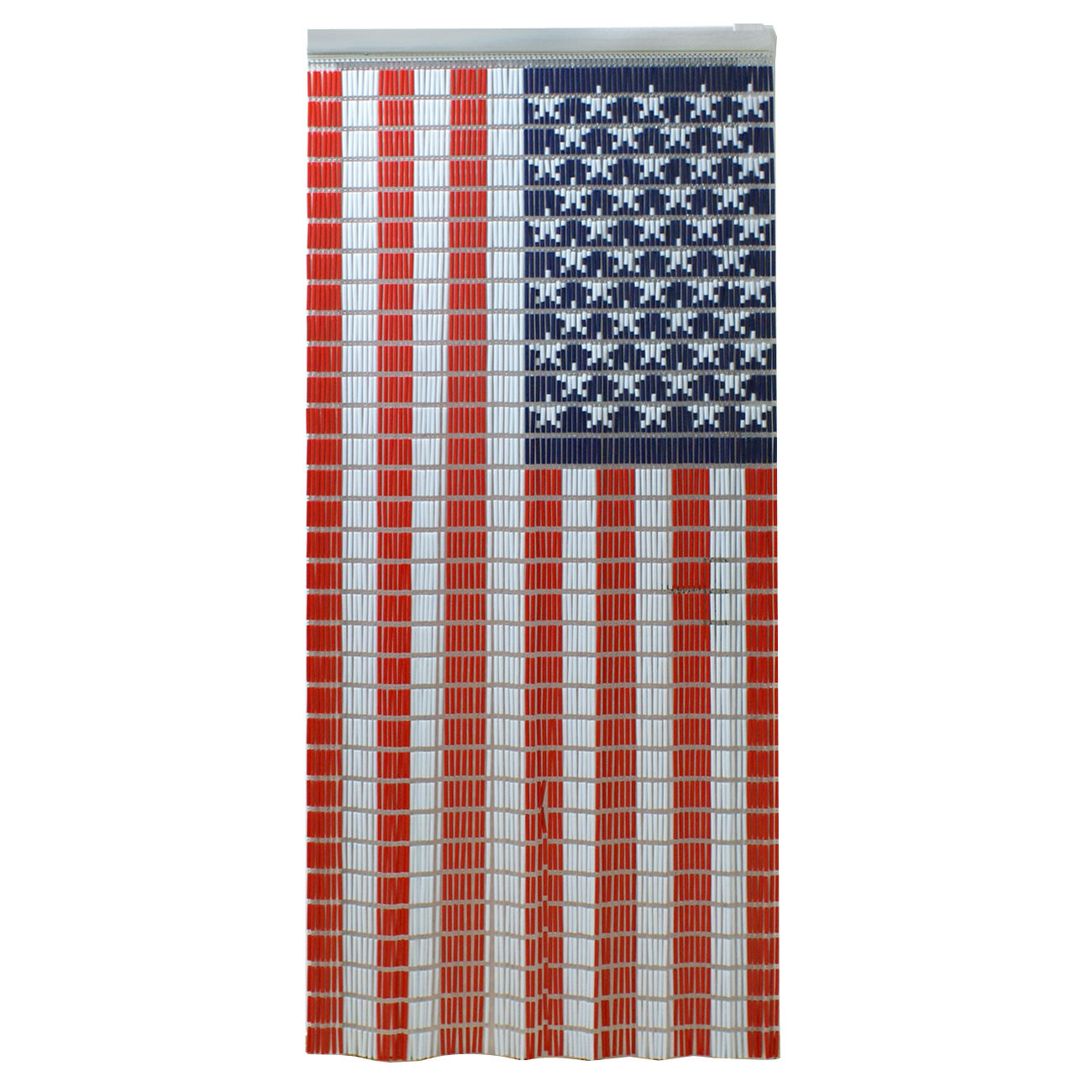 Gizmo Supply 35' x 79' Door Curtains Wall Hanging Drapes Room Divider the Old Glory US Flag