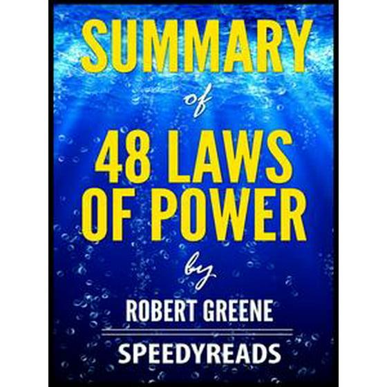 Summary Of 48 Laws Power By Robert Greene