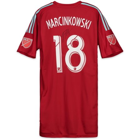 best sneakers 7c6c7 2d876 JT Marcinkowski San Jose Earthquakes Autographed Match-Used Red #18 Jersey  vs. Seattle Sounders on October 28, 2018 - Fanatics Authentic Certified