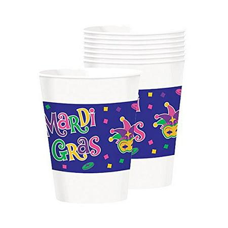 Mardi Gras Party Cups, 16 oz., 25 Ct. (Mardi Gras Imports)