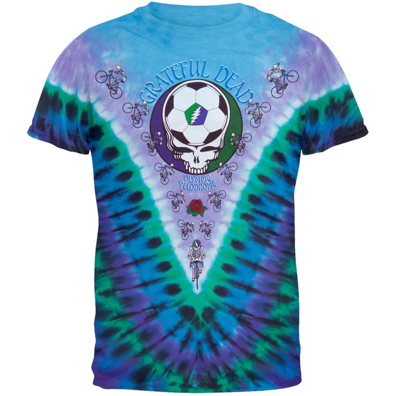 grateful dead olympic velodrome tie dye t shirt