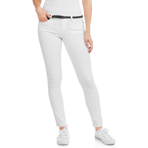 No Boundaries Juniors' Classic Skinny Jeans by