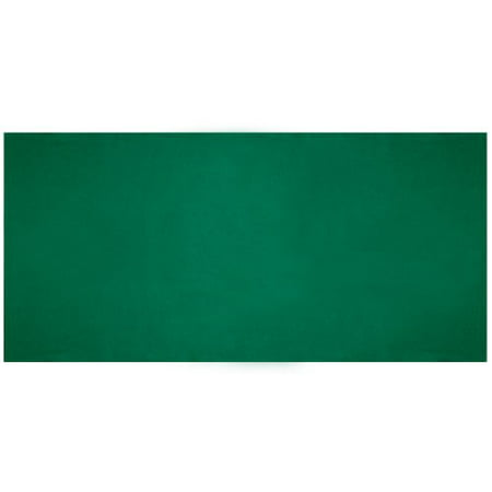Brybelly Plain Green Casino Gaming Table Felt Layout, 36