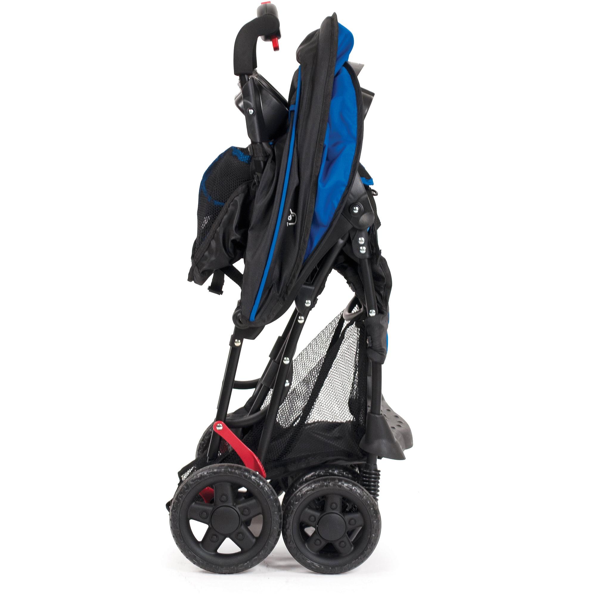 Kolcraft Cloud Sport Lightweight Stroller Cobalt Blue Walmart Com
