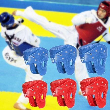 [S,M,L] - Taekwondo Headguards & Sparring Gear Set Karate Sparring Headgear Martial Arts Equipment Set Karate Sparring Gear Set Martial Arts Sparring Helmet Christmas Gift ()