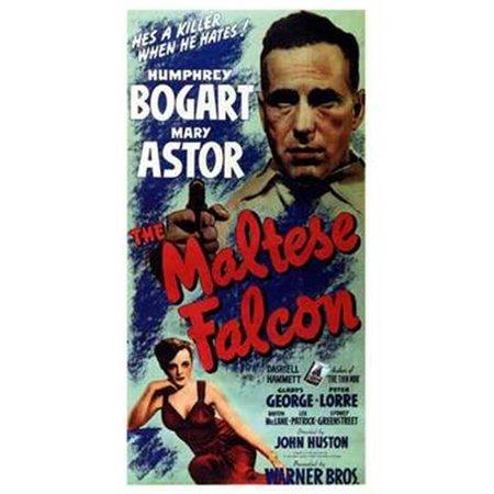 Falcon Tissue Culture Dish - Pop Culture Graphics MOV197641 The Maltese Falcon Movie Poster, 11 x 17