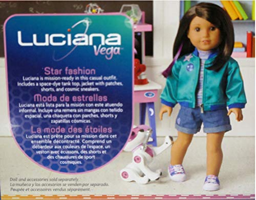 """New 18/"""" American Girl Luciana Vega Stellar Doll Outfit Shorts Accessory Toy"""