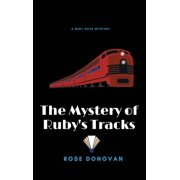 Ruby Dove Mysteries: The Mystery of Ruby's Tracks (Large Print) (Hardcover)(Large Print)