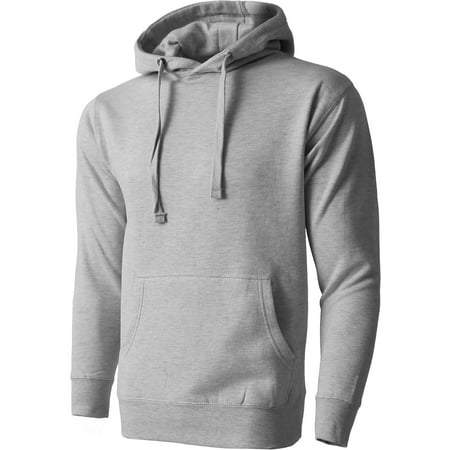 Mens Premium Big and Tall Pullover Hoodie Heavyweight Fleece Sweatshirt (Fleece Oklahoma Pullover)