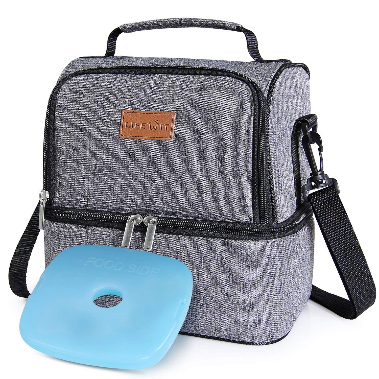 Lifewit Lunch Bags Insulated Lunch Box Thermal Bento Bag 7L
