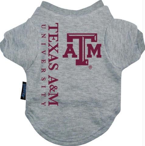 Texas A&M Aggies Pet Tee Shirt - X-Large