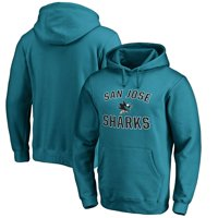 San Jose Sharks Victory Arch Fleece Pullover Hoodie - Teal