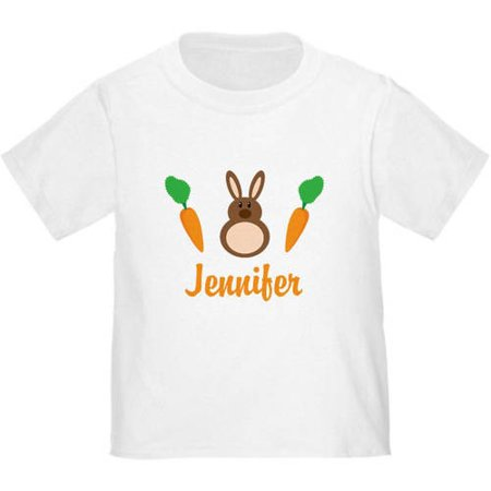 4105a34a CafePress Easter Bunny Personalized Holiday T-Shirt - Walmart.com