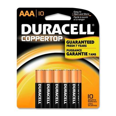Duracell CopperTop MN1500B10Z General Purpose Battery DURMN2400B10Z