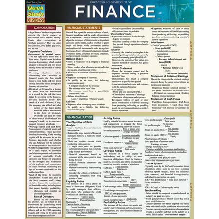 Finance - Finance Book
