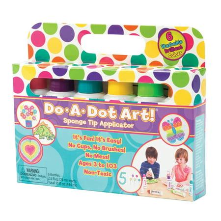 Do•A•Dot Art!™ Washable Brilliant Markers, 6 colors