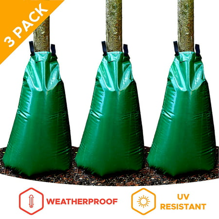 20 Gallon Watering Bags for Trees and Plants, Pack of 3