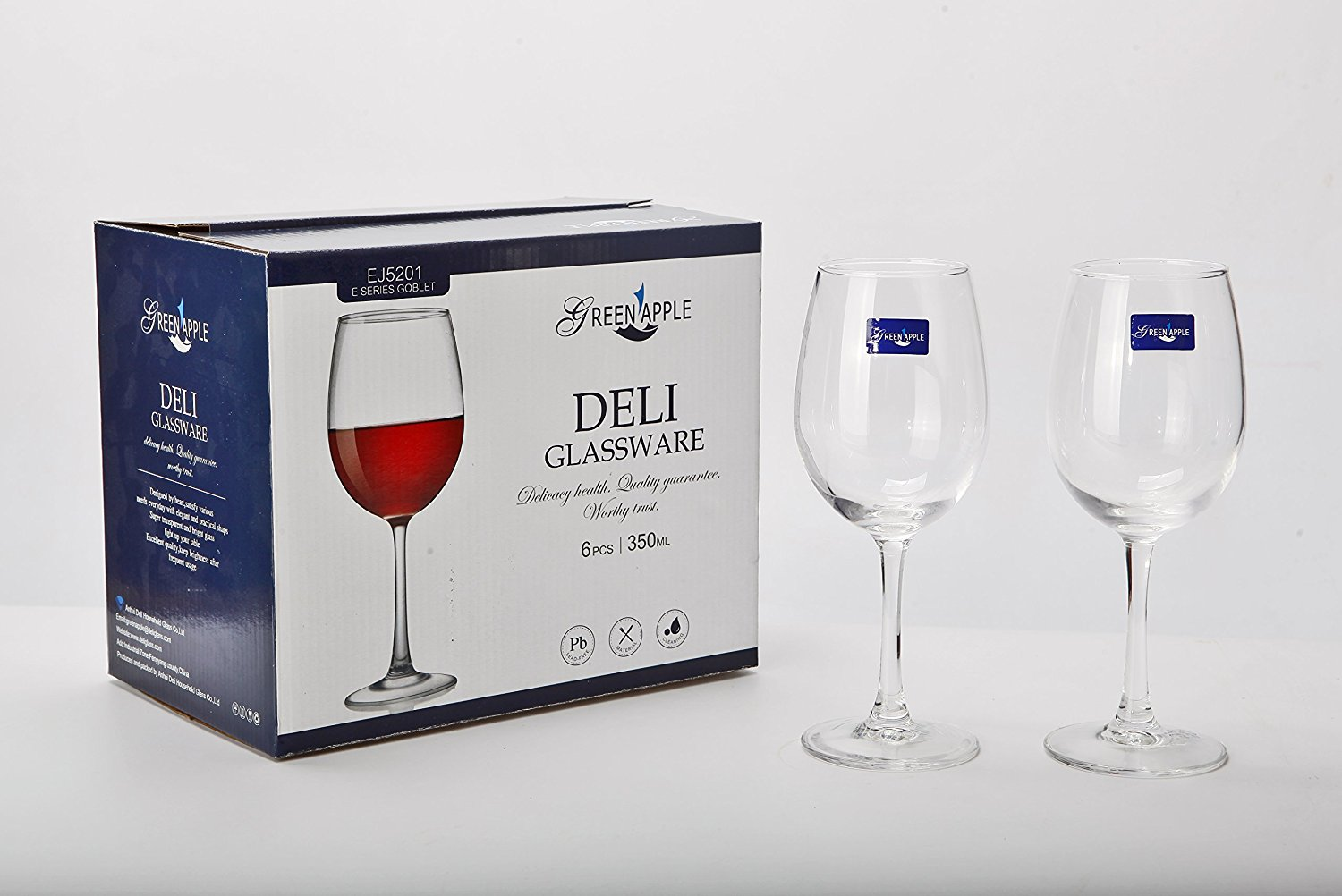 Red or White Wines Drinking Goblets Glasses Set Set of 6 Made from 100/% Lead-Free Premium Crystal Glass Bezrat Classic Beautifully Designed Stemmed Wine Glasses