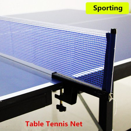 Table Tennis Ping Pong Net Indoor & Outdoor Game Post Clamp Stand Set Training Replacement Post Set Sports
