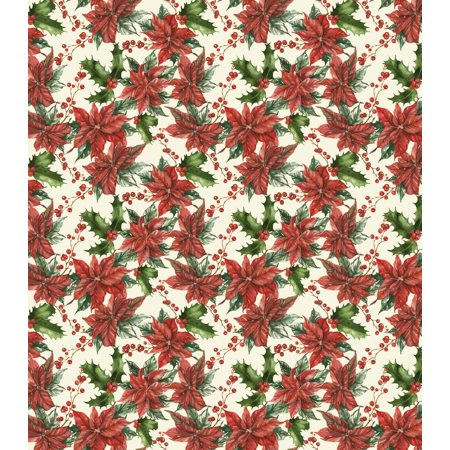 Christmas - Traditional Poinsettia - Craft Consortium Decoupage Papers 13.75