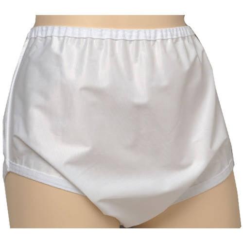 Sani-Pant Unisex Nylon Snap Closure Protective Underwear, Large