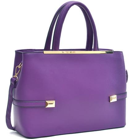 Shoulder Frame Bag (Dasein® Framed Tote Bag with Shoulder Strap)