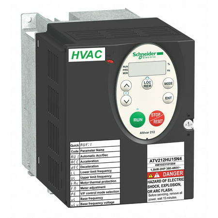 Variable Frequency Drive, 3 Max. HP, 3 Input Phase AC, 480VAC Input -