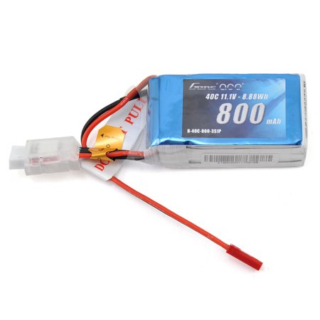 UPC 889551000062 product image for Gens Ace 3s LiPo Battery Pack 40C w/JST (11.1V/800mAh) | upcitemdb.com