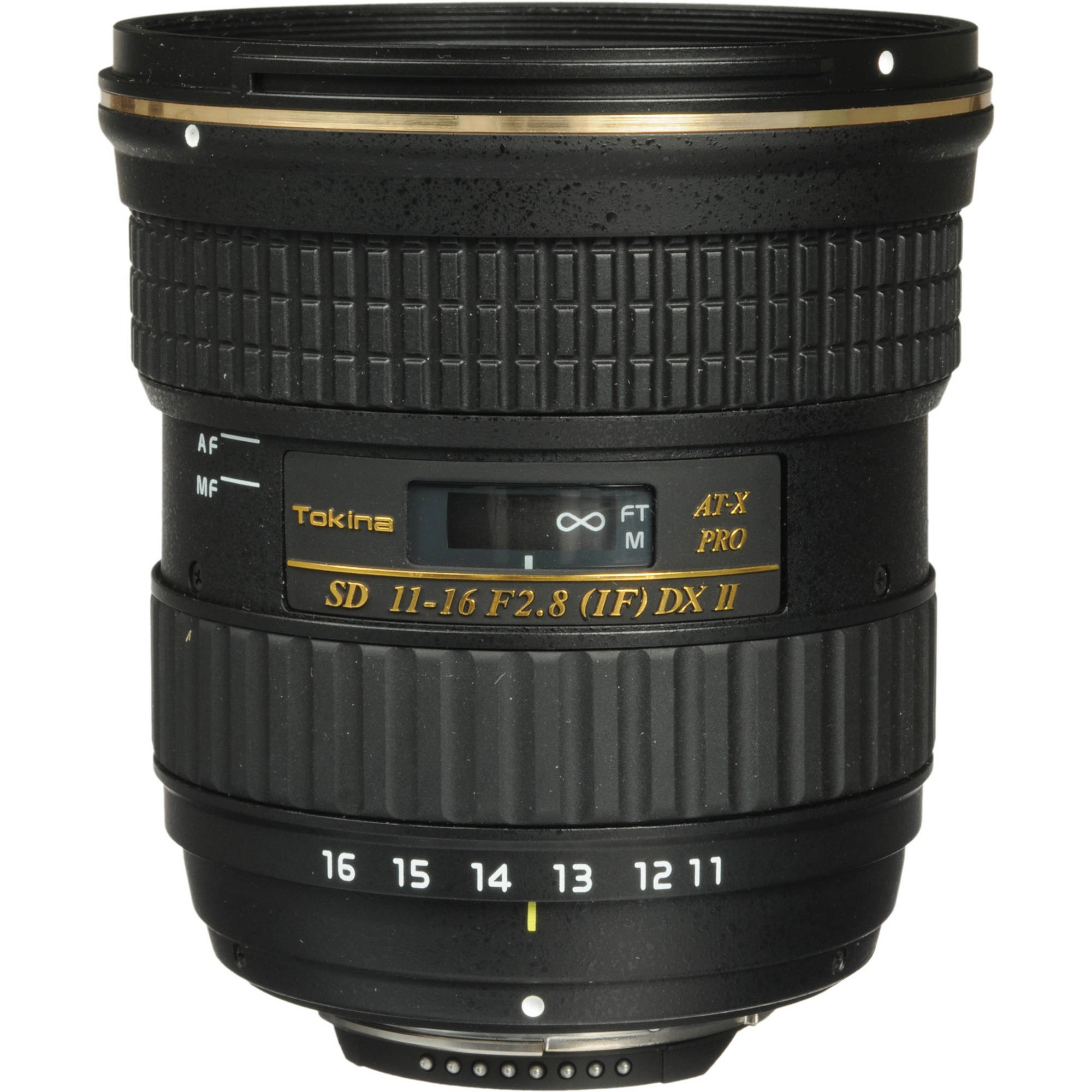 Tokina 11-16mm f/2.8 AT-X116 Pro DX-II Zoom Lens for Niko...