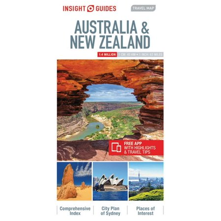 Insight Travel Maps: Insight Guides Travel Map New Zealand (Insight Maps) (Other)