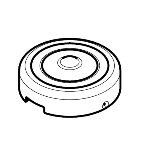 Kwikset 82215 Interior Screw Cap Cover For Select Kwikset Signature
