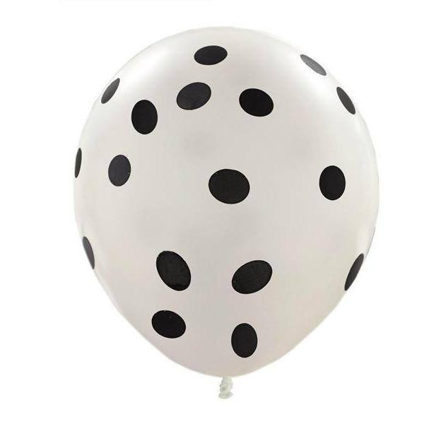 "Efavormart 12"" SENSATIONAL Polkadot Latex Balloons Wedding Event Decorations Birthday Party Graduation New Year Eve Party Supplies"