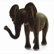 Hansa Toys 3007 Ride On Elephant - Black